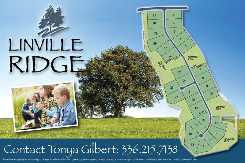 Linville Ridge Site Plan